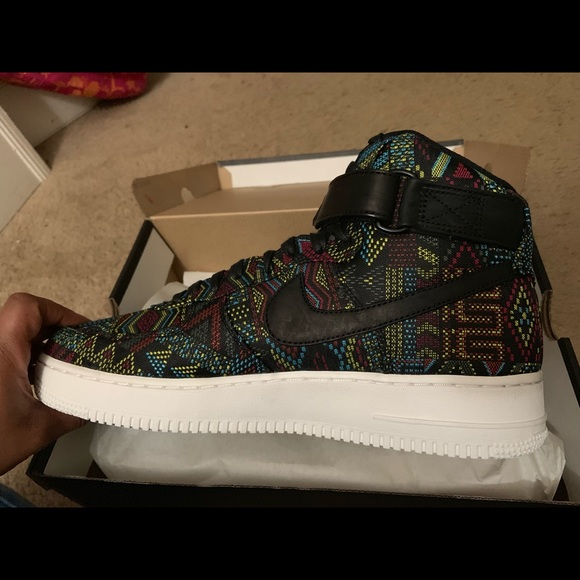 Nike Air Force 1 High Top (BHM LIMITED EDITION) NWT